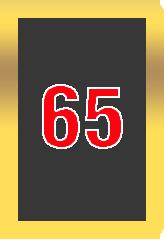 Wheel of Cash raffle -card number 65